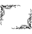 Decorative Border Style 3 Large vector image