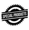 special products rubber stamp vector image