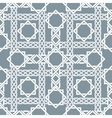 Arabic seamless pattern with intersecting stripes vector image