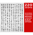 Collection of icons2 vector image vector image