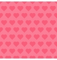 Seamless pattren with hearts vector image