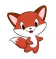 Cartoon Baby Fox vector image vector image