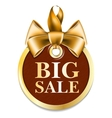 Gold tag sale vector image