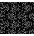 Black seamless vector image