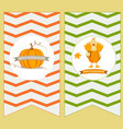 holiday banners for thanksgiving day vector image
