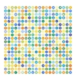 Set of 200 Universal Icons Business internet vector image