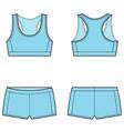 Sport underwear vector image vector image