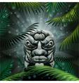 Ancient idol vector image vector image