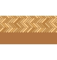 Abstract wooden floor panels horizontal seamless vector image