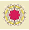 Ethnic Circle Element Orient Traditional Design vector image