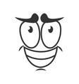 depressed emotion icon logo design simple sad vector image
