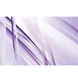 Dynamic Purple Swoosh vector image