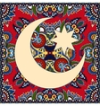 carpet design for holy month of muslim community vector image