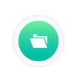 folder icon sign vector image