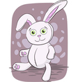 Isolated of rabbit toy vector image