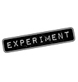 Experiment rubber stamp vector image