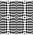 Design seamless monochrome checkered background vector image