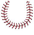 Baseball Lace Background8 vector image