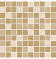 brown tile wall vector image