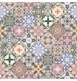 Patchwork abstract patterns vector image