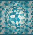 sphere 3d abstract vector image