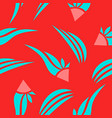 pattern in bright style vector image vector image