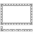 Modular frame vector image