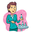 Promotion Girl vector image vector image