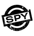 spy rubber stamp vector image