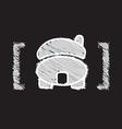 home icon sketch design vector image vector image