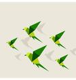 Bird abstraction2 vector image