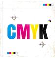 cmyk new vector image