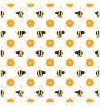 buzzy bee seamless vector image
