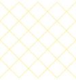 Yellow Grid White Diamond Background vector image