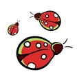 LadybugIsolated vector image