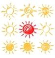 Highlighter Sun Set vector image