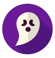 Ghost Circle Icon vector image