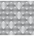 brushed metal mosaic tile background vector image vector image
