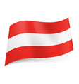 State flag of Austria vector image