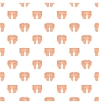 Baby legs pattern cartoon style vector image