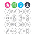 social media icons speech bubble lovers vector image