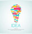 idea conceptual vector image