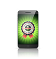 Number 1 best choice smart phone vector image
