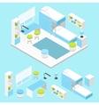 Modern Children Room Composition vector image