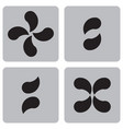 monochrome character set from punctuation marks vector image
