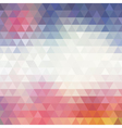 Colorful Geometric Background for your design vector image