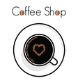 Coffee time shop1 resize vector image vector image