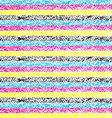CMYK pastel crayon striped background vector image