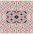 ethnic seamless pattern aztec geometric vector image