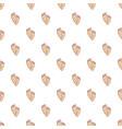 baby footprints pattern seamless vector image